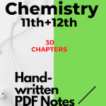 Download Best Chemistry Handwritten Notes for JEE/NEET 2021-22