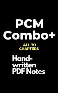 PCM Combo+ (Class 11+12)