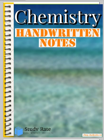 Chemistry Handwritten Notes for JEE and NEET