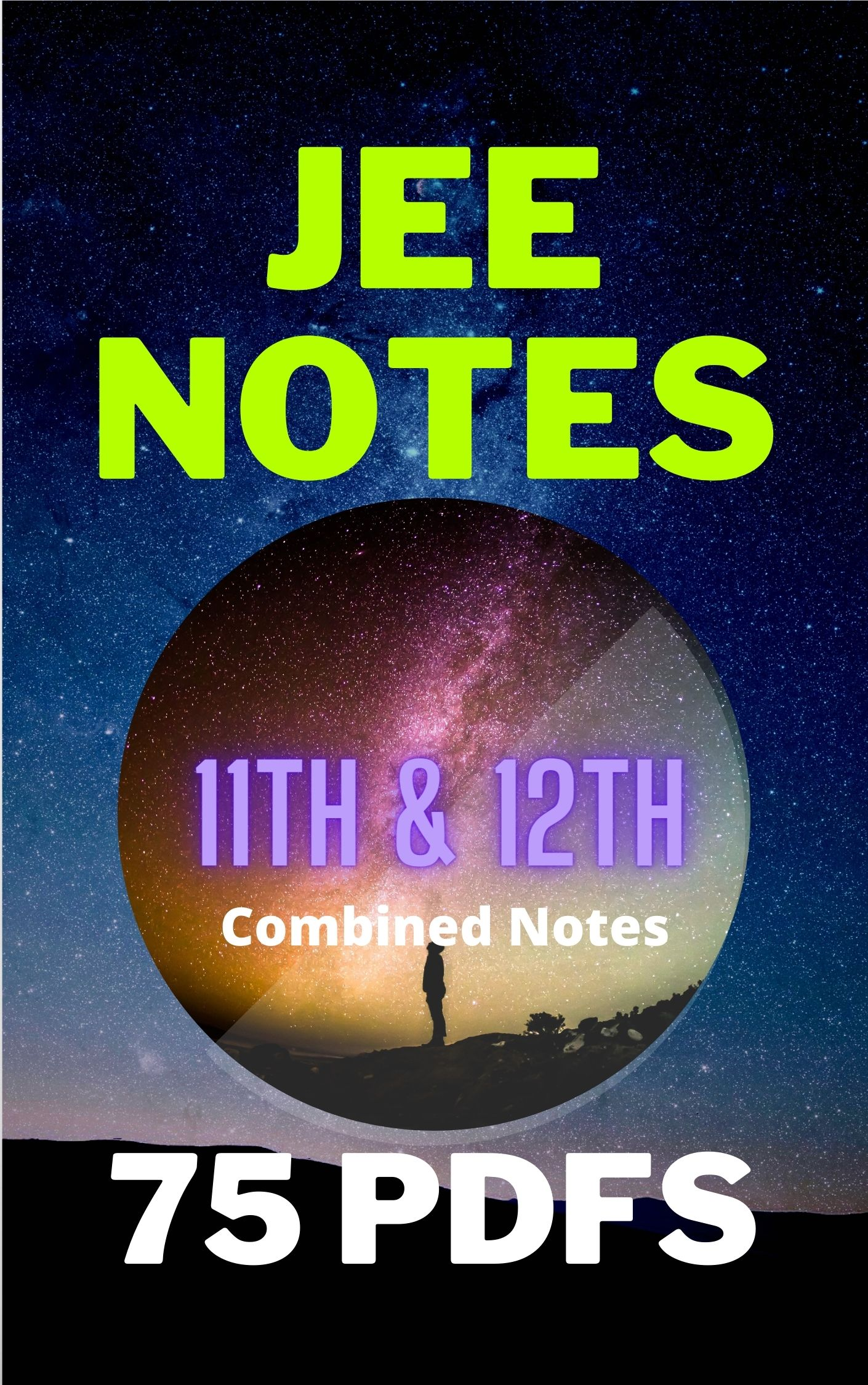 PCM Combo Handwritten Notes (Class 11+12) for JEE Mains PDF